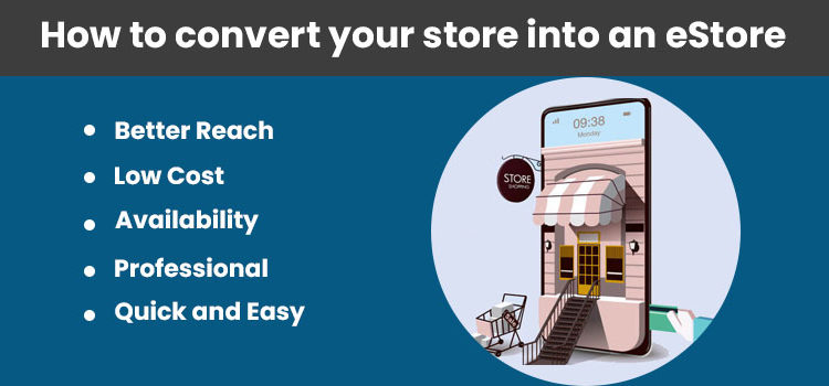 How to convert your store into an eStore
